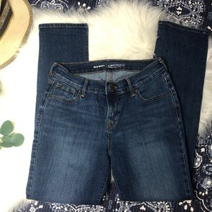 Old Navy Mid-Rise Curvy Jeans